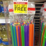 Good deal on straws at Kroger