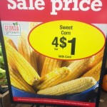 Corn 4 for $1!!!!!