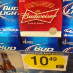 Budweiser Beer on sale at Kroger