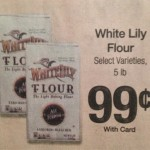 Great deal on White Lilly Flour at Kroger!