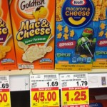 Awesome desl on Mac N Cheese in the Kroger Mega with Catalina!!!!