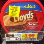 Lloyd's bbq only $3.49 at Kroger with peelies in store!