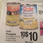Dole Pineapple chuncks on sale at Kroger