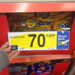 Halloween Candy 70% off at Kroger!!!!