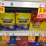 Wheat Thins and Triscuits on sale at Kroger in Mega!