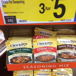 Free Crockpot Slow Cooker Seasonings at Kroger!