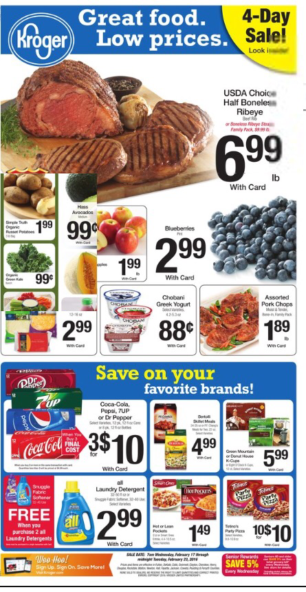 Kroger AD Preview Feb 17-23! - Kroger Coupon Queen