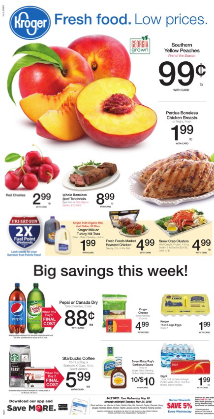 Kroger AD Preview May 18-24! - Kroger Coupon Queen