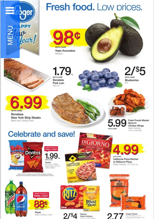 Kroger AD Preview 12/26 thru 1/3 - Kroger Coupon Queen