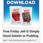 Kroger FREE Friday Download 4/7! Free Jell-O Simply Good Pudding or Gelatin Yum!!!