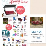 Save 10% on Kroger Patio Furniture