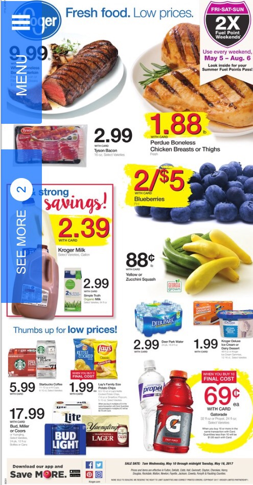 Kroger Ad May 10-16 - Kroger Coupon Queen