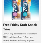 Kroger Friday Free Download July 21 Free Kraft Trios