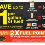 Kroger Private Selection Gas Fuel Point Deal thru 9/20!