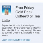 Kroger Free Friday Download 9/22