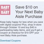 Kroger Catalina for Baby Items thru 10/10!!!