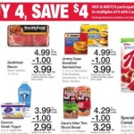 Kroger Buy 4 Save $4 10/11-10/24!