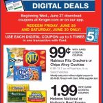 Kroger Digital Deals 6/29 & 6/30!