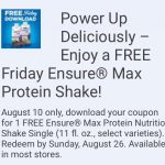 Kroger Friday Free 8/10! YEAH!