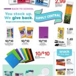 Kroger Back To School Deals thru 8/14!