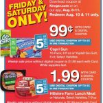 Kroger Friday & Saturday Only E Coupon Deals August 10 thru August 11!