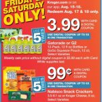 Kroger Friday and Saurday Downloads Aug 17 & 18!