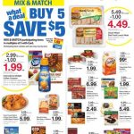 Kroger AD 8/22 thru 8/28! Buy 5 Save $5!