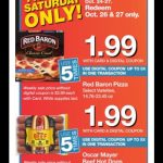 Kroger Friday & Saturday only Deals 10/26 & 10/27!