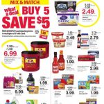 Kroger AD 12/26 thru 1/1! Happy New Year! Buy 5 Save $5!