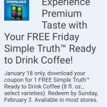 Kroger Friday Free 1/18