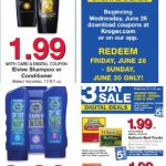 Kroger AD 6/26  – 7/2! Happy 4th of July!