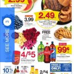 Kroger AD 7/31 thru 8/6! Buy 4 Save $4 & Back To School Savings!