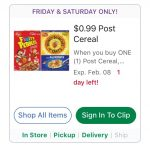 Kroger Fri & Sat 2/7 & 2/8 Deals!