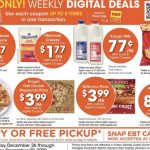 A 4 Day Kroger AD Woo Hoo! 4 Days only valid Dec 26 – Dec 29!